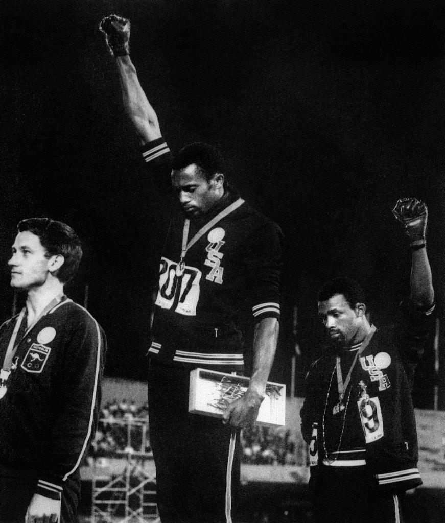 The 1968 Olympics Black Power Salute