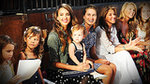 Spotted: Jessica Alba's Front-Row Polka Dots (and Adorable Daughters)
