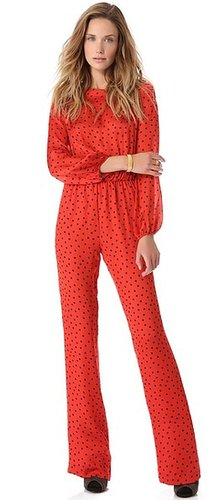 Moschino Cheap and Chic Dot Jumpsuit