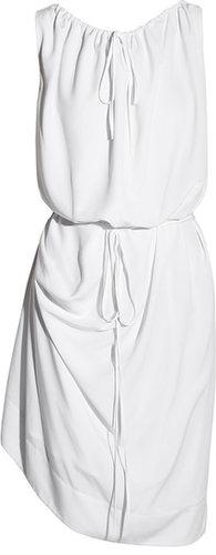 Vivienne Westwood Red Label Ruched crepe wrap dress