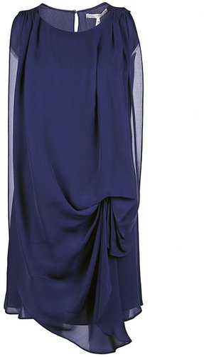 Halston Heritage Sleeveless draped dress
