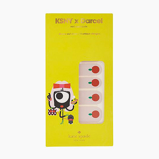 Add a little whimsy to your nails with the Kate Spade x Darcel Nail Decals ($28). The set comes with 32 apple, donut, heart, and eye designs to decorate your digits.