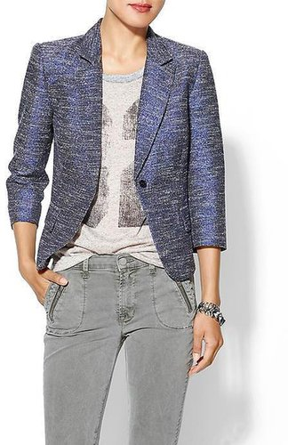 Rhyme Los Angeles Metallic Tweed Blazer