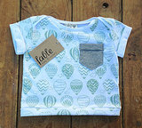 Organic Cotton Balloon Print Tee ($37)