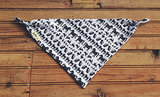Navy Animals Cotton Bandana Bib ($18)