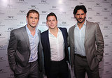 Chris was joined by fellow heartthrobs Channing Tatum and Joe Manganiello at the IWC flagship boutique New York City grand opening in April 2012.