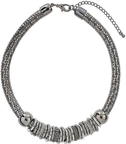 Ausgefallene Halskette mit Ringen