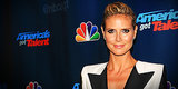 Heidi Klum Suits Up in a Tux!