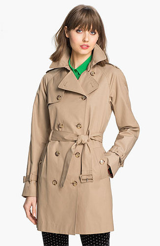 Calvin Klein 'Legacy' Poplin Trench Coat (Online Only) Large