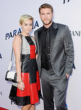Miley Cyrus Stands by Her Man at His Big Premiere