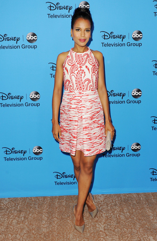 Kerry Washington wowed — and not just because of her ring — in a Giambattista Valli dress at the TCAs.