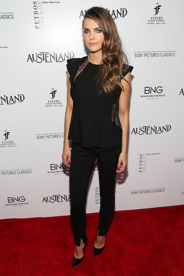 We still don't get enough of Keri Russell out on the red carpet, but we'll settle for this stunning appearance at the premiere of Austenland.