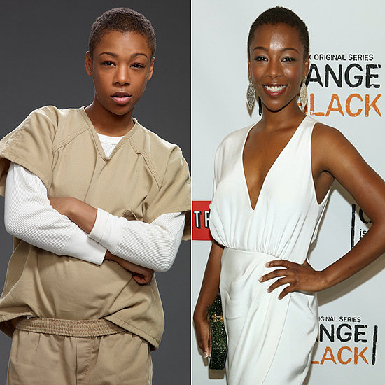Samira Wiley (Poussey Washington) Source: Getty, Netflix