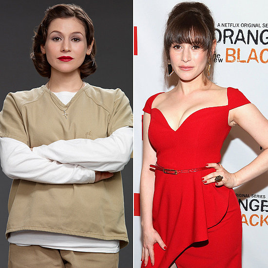 Yael Stone (Lorna Morello) Source: Getty, Netflix
