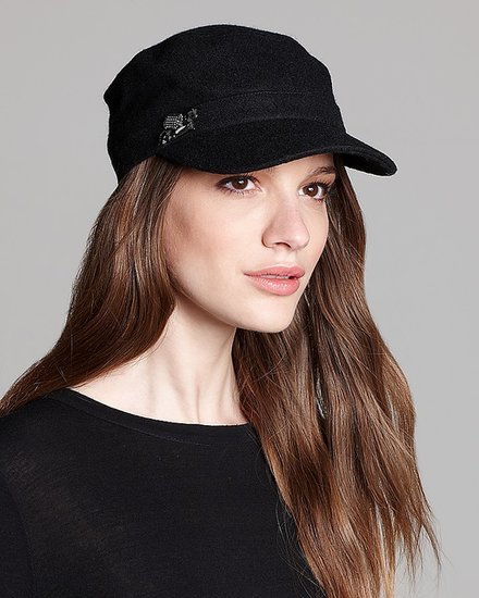 August Accessories Bejewel Me Military Cap