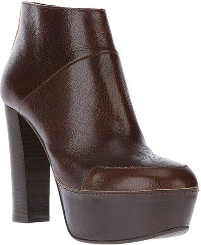Marni platform ankle boot