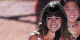 "Lea Michele Cries While Remembering Cory Monteith's ""Handsome Smile"""
