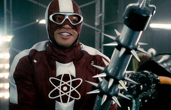 Donald Faison in Kick-Ass 2.