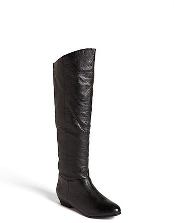 Steve Madden 'Creation' Boot Womens Black Leather Size 9 M 9 M