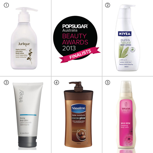 Best Body Moisturiser POPSUGAR Australia Beauty Awards 2013