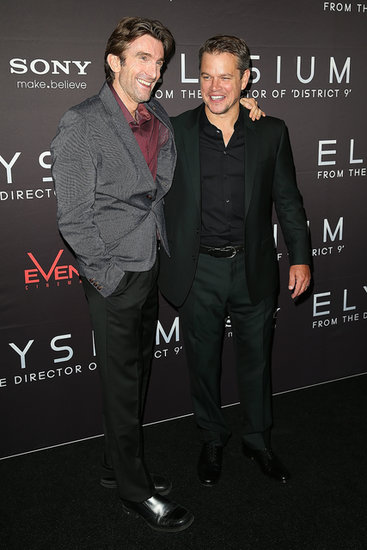 Matt Damon and Sharlto Copley Bring Elysium Excitement to Sydney