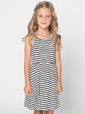 Striped Kids Skater Dress ($25)