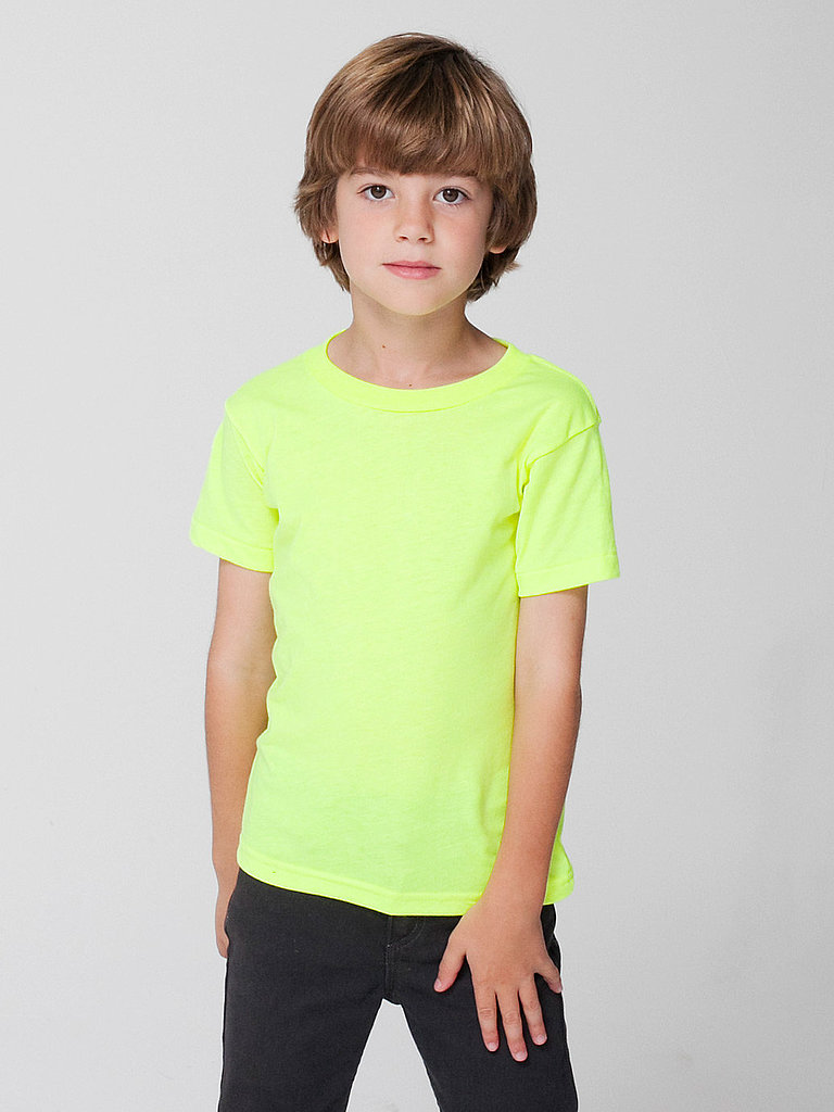 Kids Poly-Cotton Short Sleeve T-Shirt ($8, originally $11)