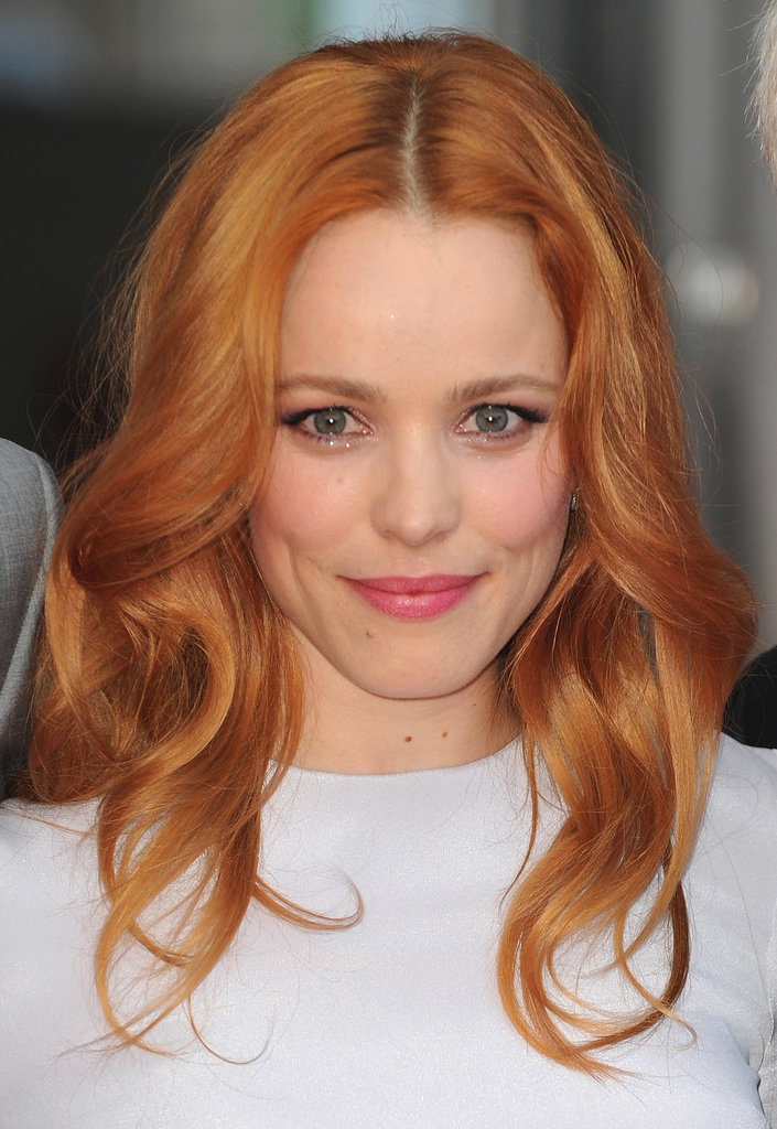 Last year Rachel McAdams made the leap from dark red to this brighter strawberry shade. It's a throwback to her The Notebook days.