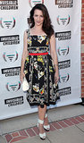 Kristin Davis was lovely in a floral-print dress at the Annual Founders Party for the Invisible Children leadership summit.