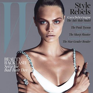 Cara Delevingne Psoriasis Interview | W September 2013