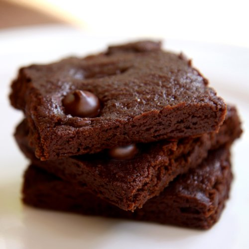 Vegan Zucchini Double Fudge Brownies
