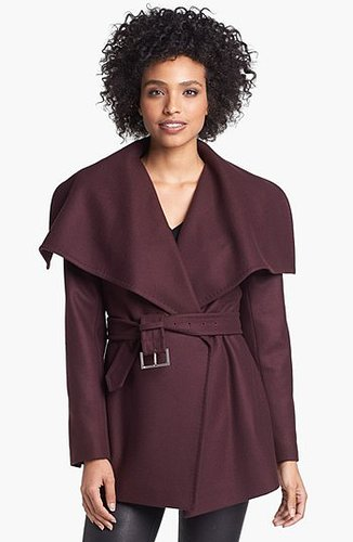 Ted Baker London Drape Collar Short Coat 4