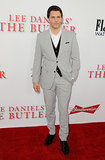 James Marsden wore a gray ensemble.