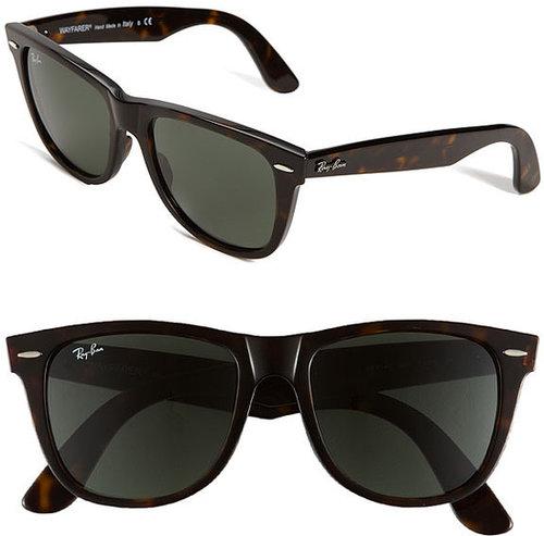 Ray-Ban 'Classic Wayfarer' 54mm Sunglasses Black One Size