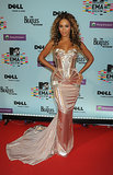 Beyoncé looked more like Sasha Fierce at the 2009 MTV Europe Music Awards.