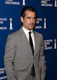 Colin Farrell showed up in style for the HFPA Luncheon in LA.