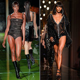 Fourteen years and not much has changed; Naomi Campbell's truly ageless.