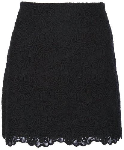 Stella Mccartney lace scalloped skirt