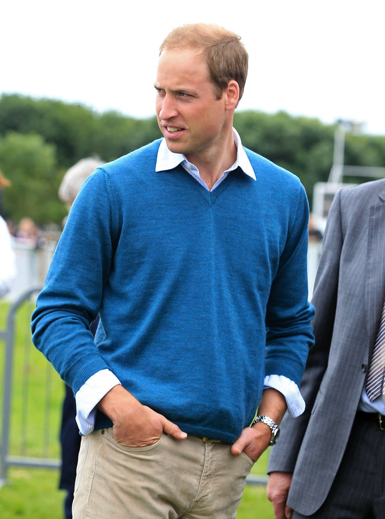 Prince William attended the Anglesey Agriculture Show.