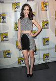 When we first spotted Lily promoting The Mortal Instruments at Comic-Con in this Paper London look, we had no idea that the crop-top look would become her thing.