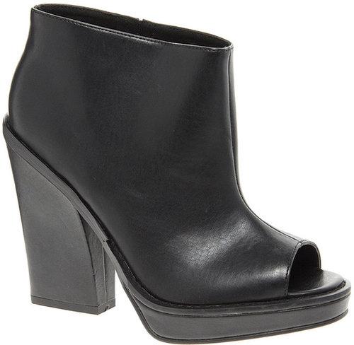 ASOS TAXI Platform Peep Toe Shoe Boots