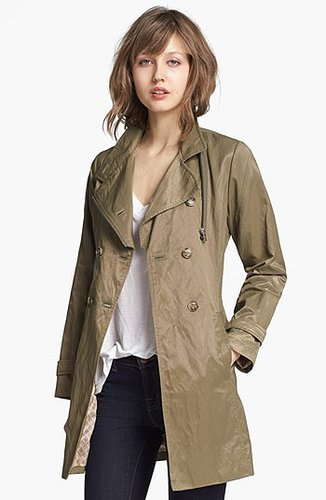 RAINFOREST Double Breasted Raincoat Large