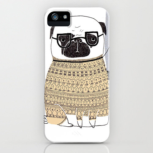 Phillippa Lola's pug in sweater case ($35) — it's all you need, really.