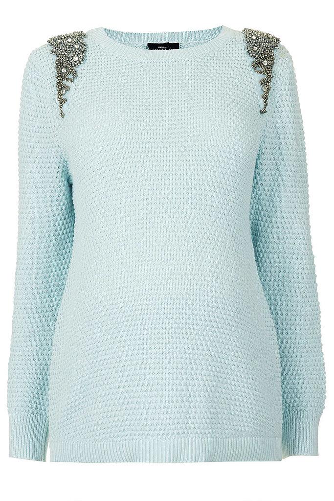 Topshop Embellished Sweater