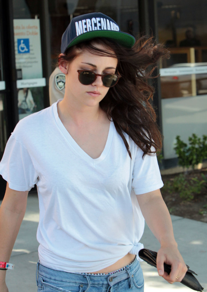 Kristen Stewart was spotted out in LA.
