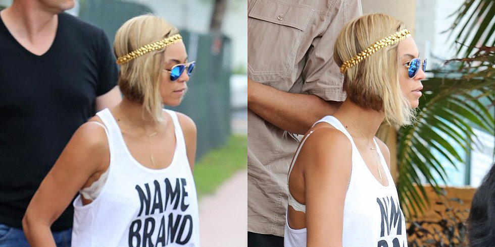Beyoncé Trades Her Pixie For an A-Line Bob!
