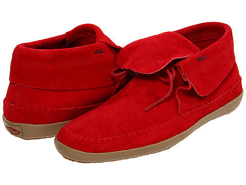 Clearly, our editors have a thing for Vans — this time we fell for the cool flash of red on these Vans Mohikan suede lace-ups ($27-$37, originally $65).