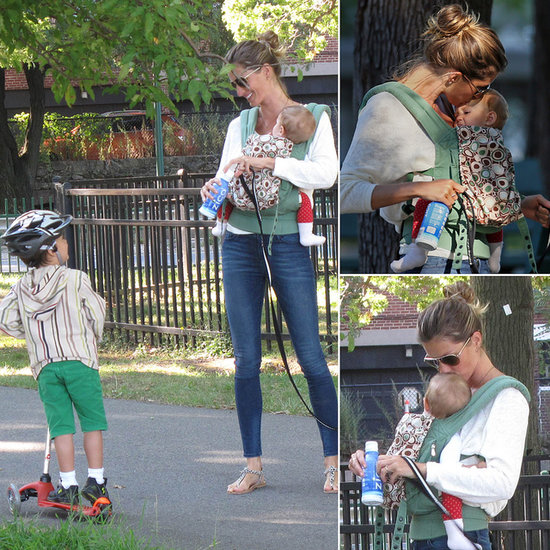 Gisele Bündchen Shows Her Little Ones Love After Tom Brady's Injury Scare