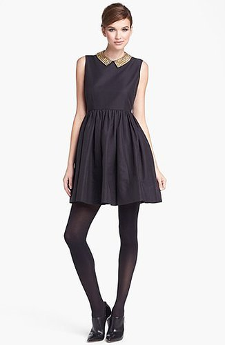 Kate Spade New York 'laurence' Cotton Blend Fit & Flare Minidress