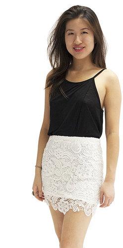 Faisca Fit for a Bride Lace Skirt